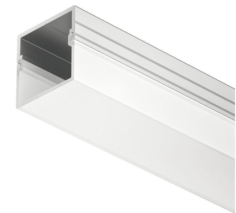 Profil Hafele LOOX pentru montaj pe suprafata banda LED