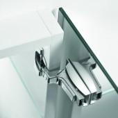 71B9750 + 175M4C20 - Placuta CRISTALLO - pentru utilizare in baie la dulapuri cu usa din oglinda