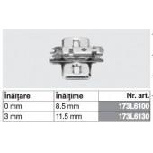 173L6100 - Placuta de montaj in cruce CLIP top BLUMOTION / CLIP top