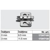 173H7100 - Placuta de montaj in cruce CLIP top BLUMOTION / CLIP top