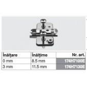 174H7100E - Placuta de montaj in cruce CLIP top BLUMOTION / CLIP top
