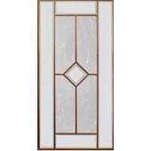 Sticla pentru front usa cu vitrina 956x296 mm